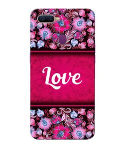 Red Love Oppo F9 Pro Mobile Cover