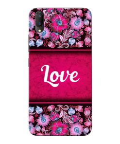 Red Love Vivo V11 Pro Mobile Cover