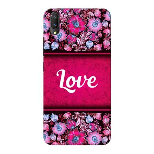 Red Love Vivo V11 Pro Mobile Cover