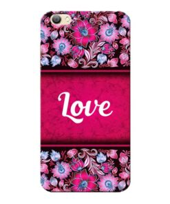 Red Love Vivo V5s Mobile Cover