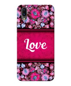 Red Love Vivo X21 Mobile Cover