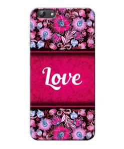 Red Love Vivo Y66 Mobile Cover