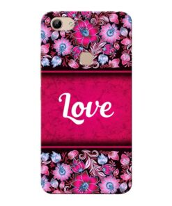 Red Love Vivo Y81 Mobile Cover
