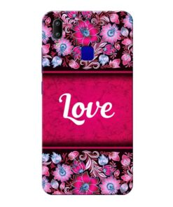 Red Love Vivo Y91 Mobile Cover