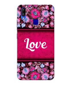 Red Love Vivo Y95 Mobile Cover