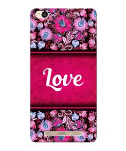 Red Love Xiaomi Redmi 3s Mobile Cover
