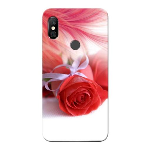 Red Rose Redmi Note 6 Pro Mobile Cover