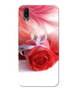 Red Rose Vivo X21 Mobile Cover