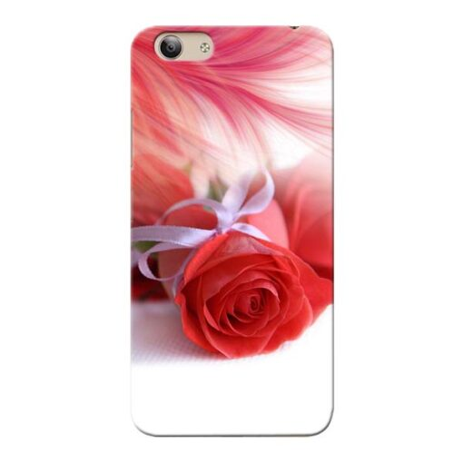 Red Rose Vivo Y53i Mobile Cover