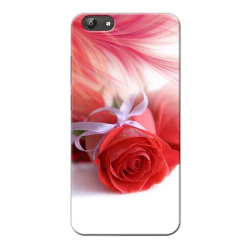 Red Rose Vivo Y66 Mobile Cover