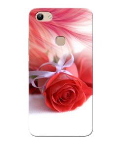 Red Rose Vivo Y81 Mobile Cover