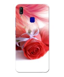 Red Rose Vivo Y91 Mobile Cover