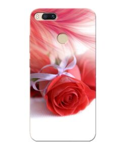 Red Rose Xiaomi Mi A1 Mobile Cover