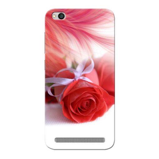 Red Rose Xiaomi Redmi 5A Mobile Cover