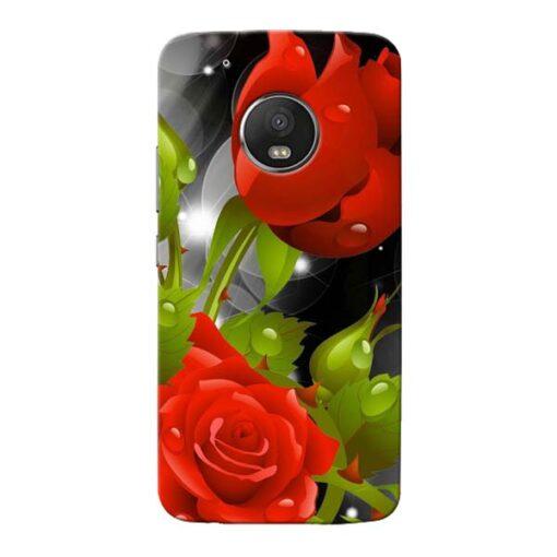 Rose Flower Moto G5 Plus Mobile Cover