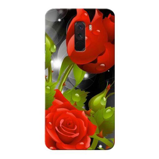 Rose Flower Xiaomi Poco F1 Mobile Cover