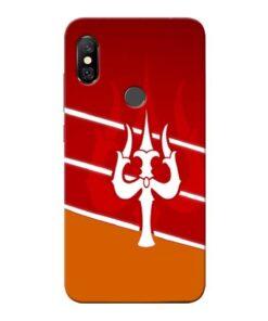 Shiva Trishul Redmi Note 6 Pro Mobile Cover