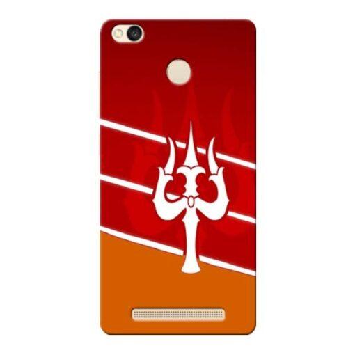 Shiva Trishul Xiaomi Redmi 3s Prime Mobile Cover