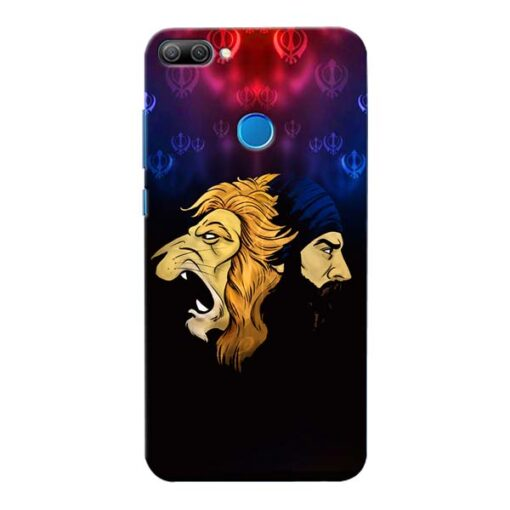 Singh Lion Honor 9N Mobile Cover