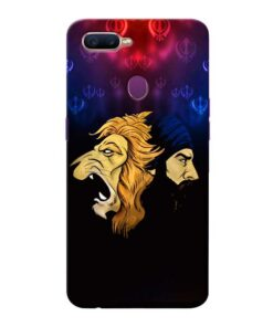 Singh Lion Oppo F9 Pro Mobile Cover