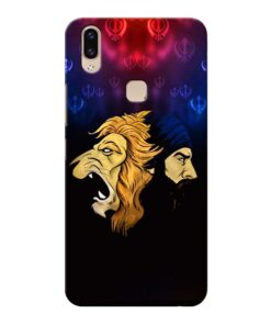 Singh Lion Vivo V9 Mobile Cover