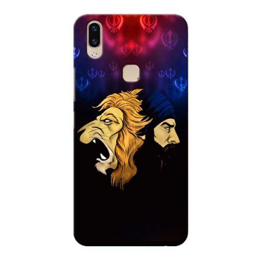 Singh Lion Vivo V9 Mobile Cover