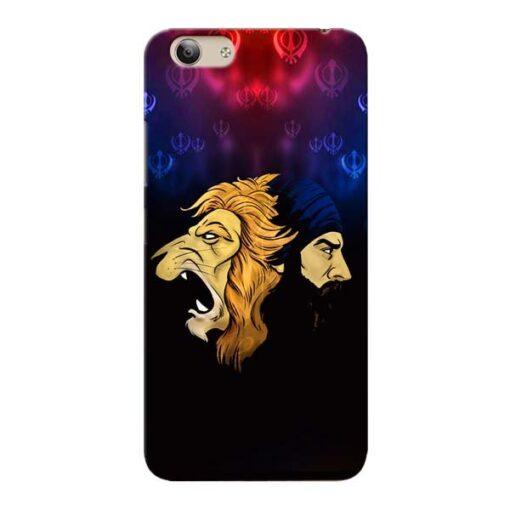 Singh Lion Vivo Y53i Mobile Cover