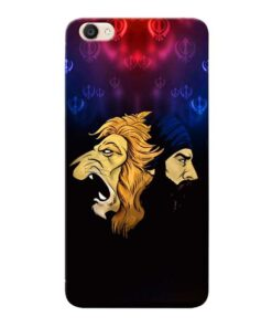 Singh Lion Vivo Y55s Mobile Cover