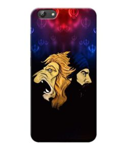 Singh Lion Vivo Y66 Mobile Cover