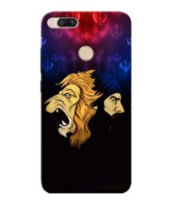 Singh Lion Xiaomi Mi A1 Mobile Cover