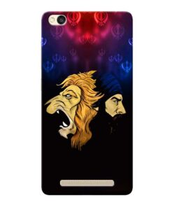 Singh Lion Xiaomi Redmi 3s Mobile Cover