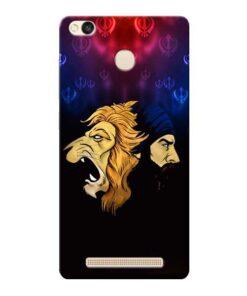 Singh Lion Xiaomi Redmi 3s Prime Mobile Cover