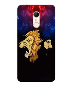 Singh Lion Xiaomi Redmi 5 Mobile Cover