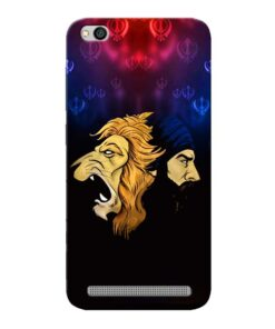 Singh Lion Xiaomi Redmi 5A Mobile Cover