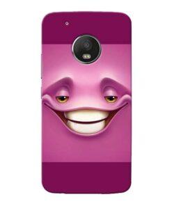 Smiley Danger Moto G5 Plus Mobile Cover