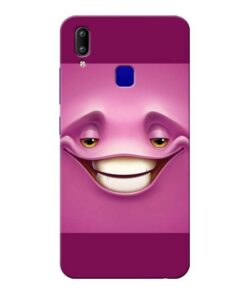 Smiley Danger Vivo Y91 Mobile Cover