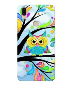 Spring Owl Vivo V9 Mobile Cover
