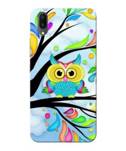 Spring Owl Vivo X21 Mobile Cover
