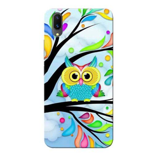 Spring Owl Vivo X21 Mobile Cover