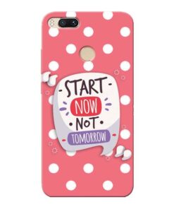Start Now Xiaomi Mi A1 Mobile Cover