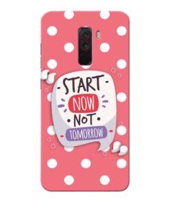 Start Now Xiaomi Poco F1 Mobile Cover
