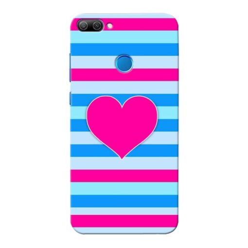Stripes Line Honor 9N Mobile Cover