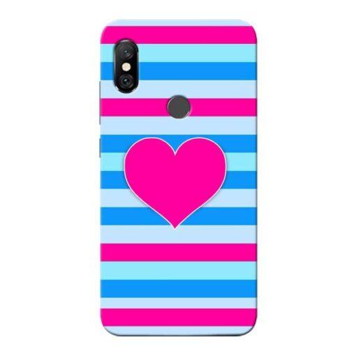 Stripes Line Redmi Note 6 Pro Mobile Cover