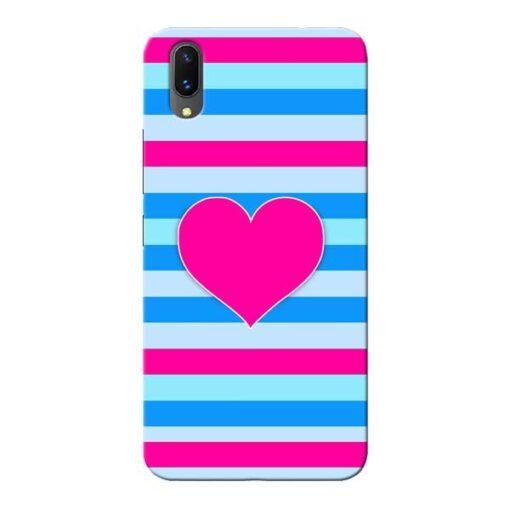 Stripes Line Vivo X21 Mobile Cover