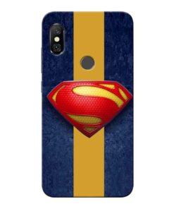 SuperMan Design Redmi Note 6 Pro Mobile Cover
