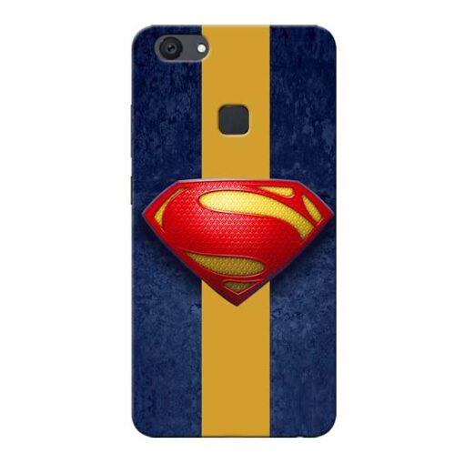 SuperMan Design Vivo V7 Plus Mobile Cover