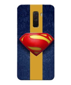 SuperMan Design Xiaomi Poco F1 Mobile Cover