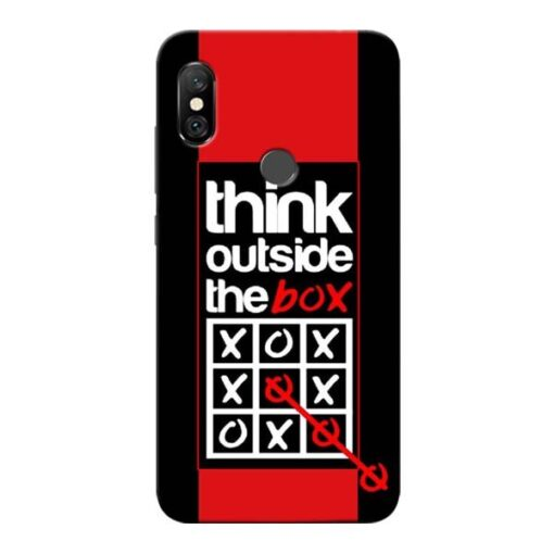 Think Outside Redmi Note 6 Pro Mobile Cover