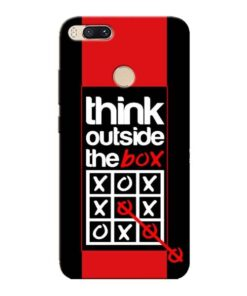 Think Outside Xiaomi Mi A1 Mobile Cover