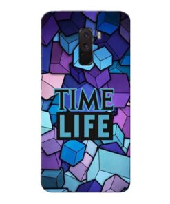 Time Life Xiaomi Poco F1 Mobile Cover